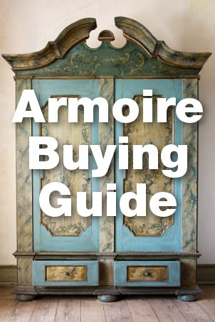 Armoire Buying Guide from Overstock™. Before you choose which armoire is best for you, you'll want to get to know with your options. There's one for almost every room in the house.