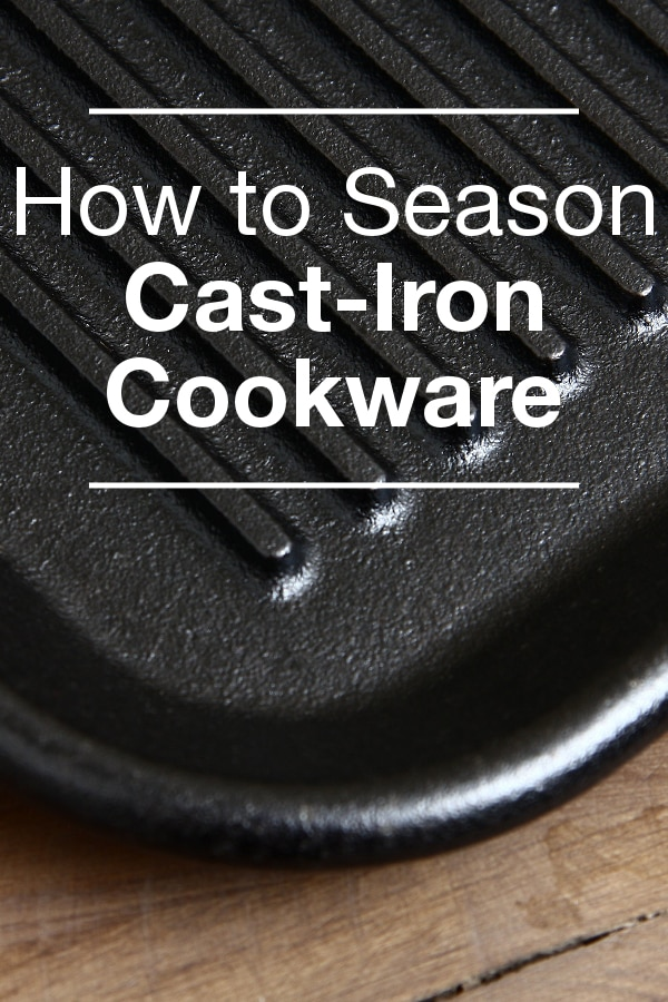 How to Season Cast-Iron Cookware from Overstock™. Regular seasoning creates a natural non-stick surface and protects the cookware from rusting. Here's how to do it.