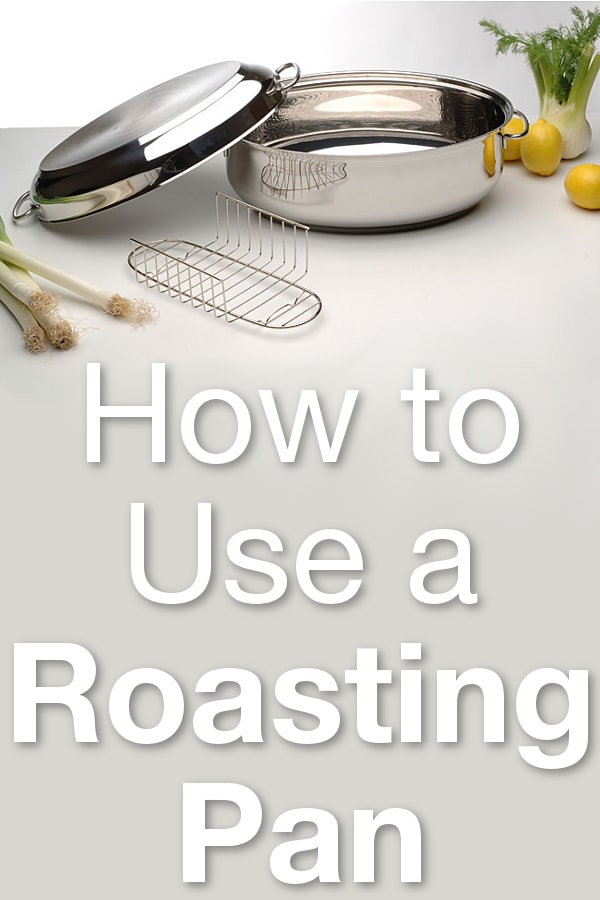 How to Use a Roasting Pan from Overstock™. The key to properly using a roasting pan is to leave at least 2 inches of air space around the meat that you are roasting.