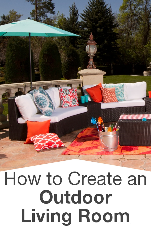 How to Create an Outdoor Living Room from Overstock™. With the right patio furniture and outdoor decorations, you can easily expand the functional area of your home.