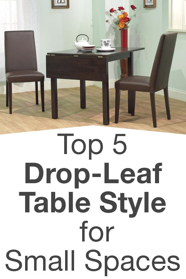 Top 5 drop leaf table styles for small spaces - Drop leaf table small space style ...