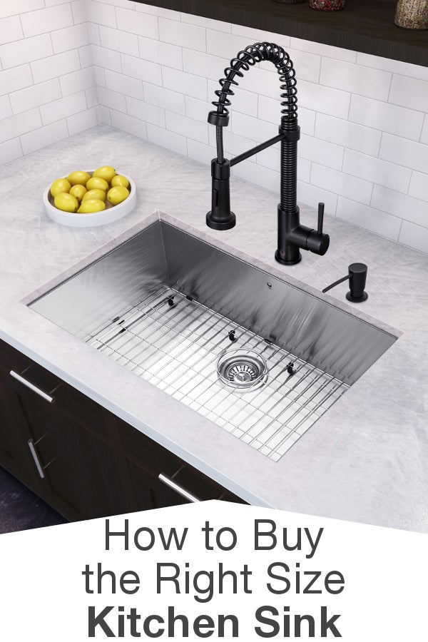 how to measure for a kitchen sink how to buy the right size kitchen sink overstock 9494