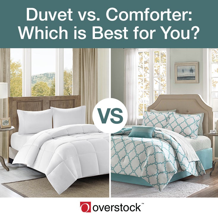 Duvet Vs Comforter What S Best For Your Bed Overstock