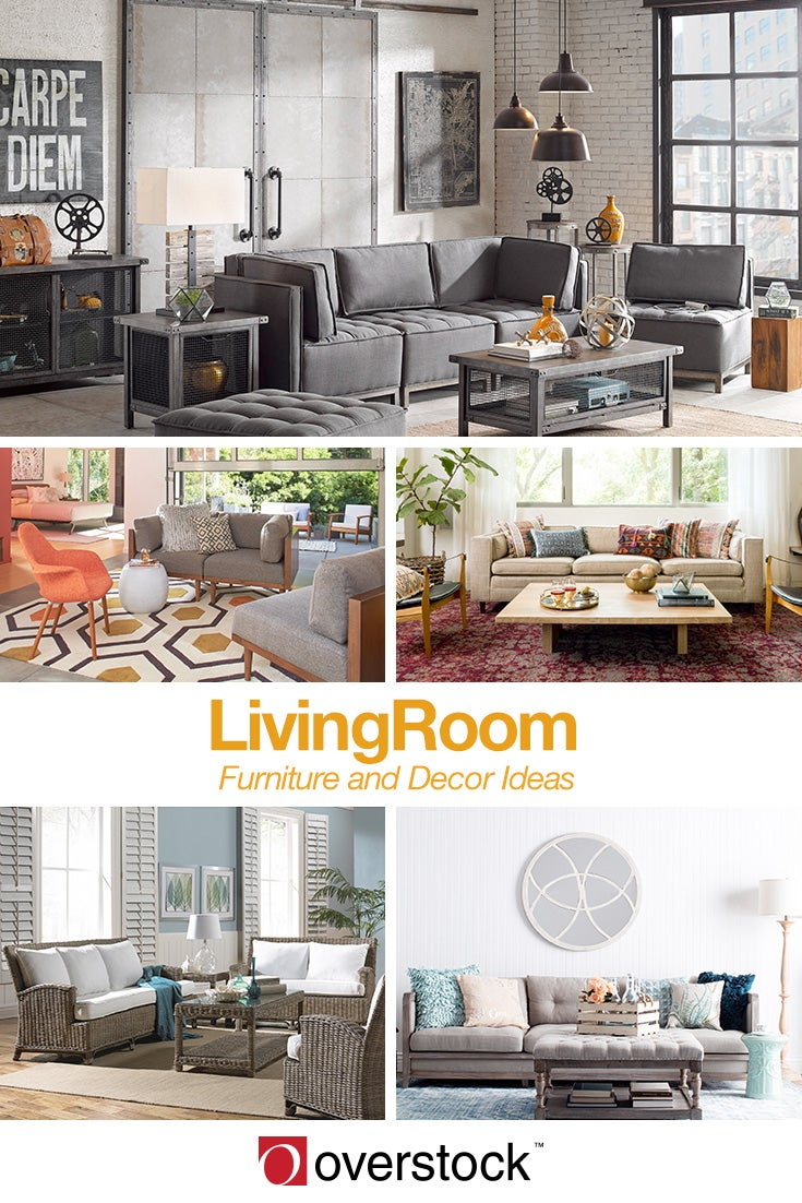 6 chic living room ideas to try at home overstock 56331