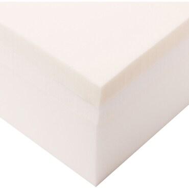 Plush memory foam