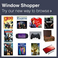 Window Shopper - Books & Media