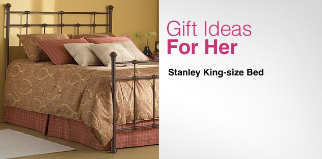 Gift Ideas for Her - Day 13 - Stanley King-size Bed