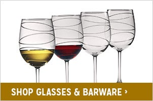 Shop Glasses & Barware