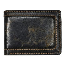 Distressed Bi-fold Wallet