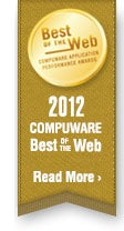 2012 Compuware Best of the Web