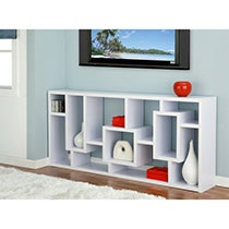 Red Cocoa Wood Bookcase