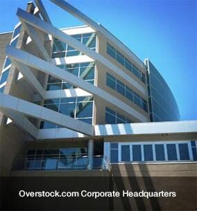 Overstock.com Building in Salt Lake City, UT