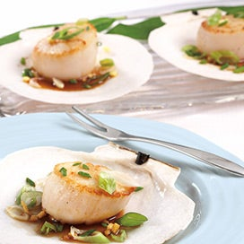 Scallops with Brown Butter Sauce