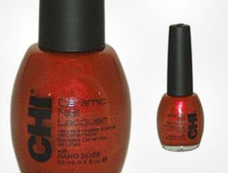 Beautiful Red Chi Nail Polish