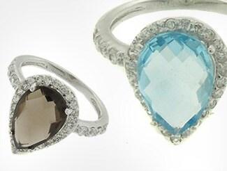 Beautiful Gemstone Rings