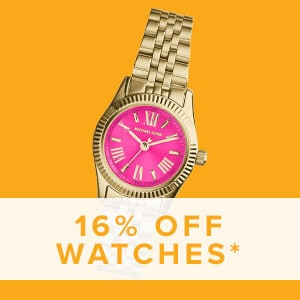 16% Off Watches