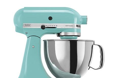 KitchenAid KSM150PSAQ Aqua Sky 5-quart Artisan Tilt-Head Stand Mixer