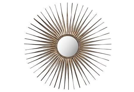 Safavieh Shanira Sunburst Gold Mirror