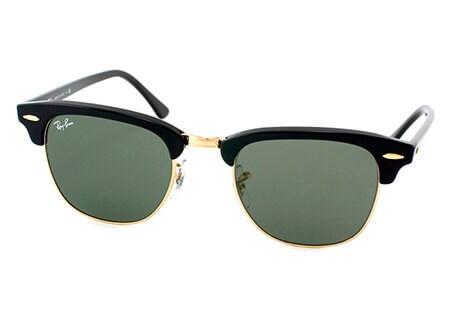 Ray-Ban Unisex 'Clubmaster W0365' Round Sunglasses