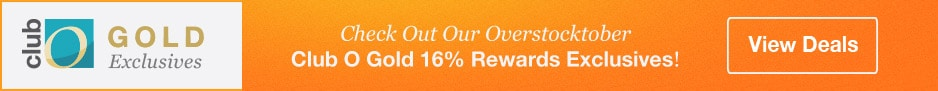 You're invited to shop the Overstocktober Sweet 16% Rewards Event!