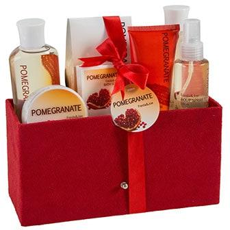 Pomegranate Bath Spa Gift Set