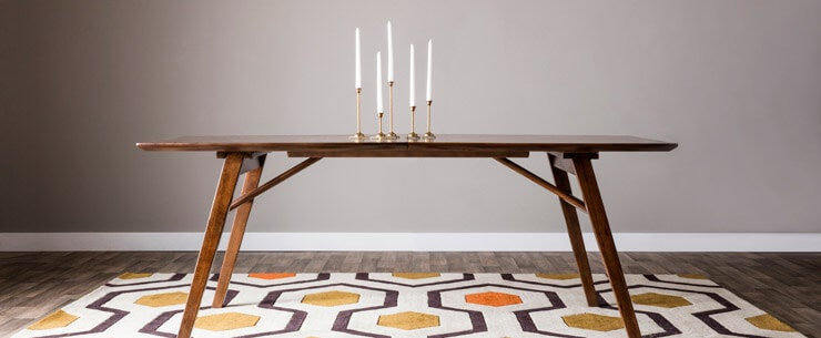 Mid-Century Modern Dining Room Table Legs