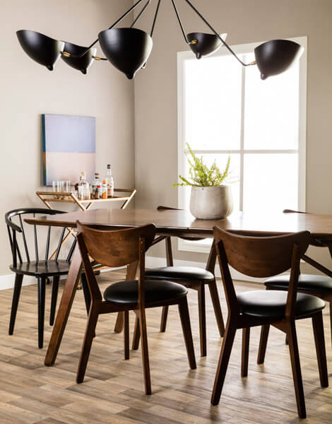 mid century modern dining room ideas - Mid Century Decor