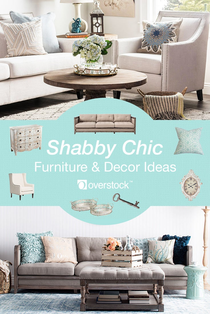 Turquoise Living Room Furniture Beautiful Shabby Chic Furniture And Daccor Ideas Overstockcom