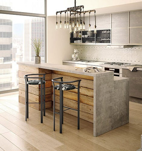 Industrial Kitchen Set: Industrial Furniture & Decor Ideas For Your Home