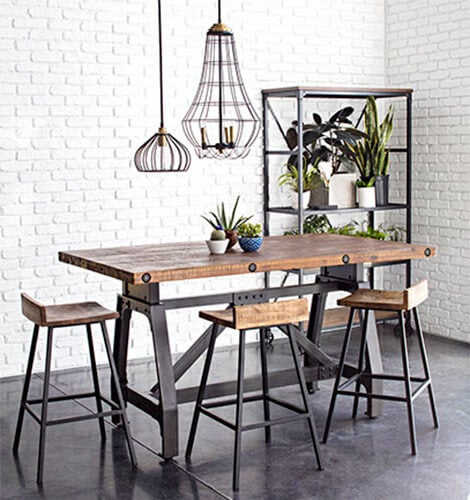 industrial kitchen dining room ideas