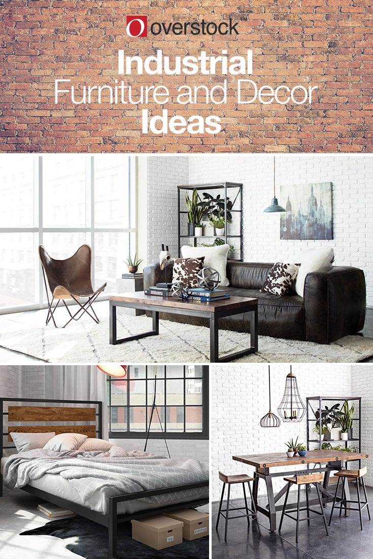 Industrial Room Design Ideas: Industrial Furniture & Decor Ideas For Your Home