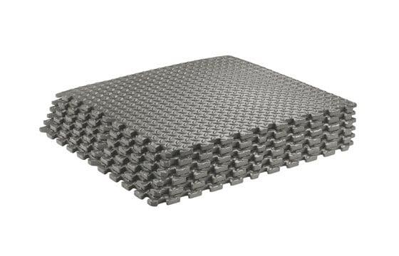 Grey textured home flooring
