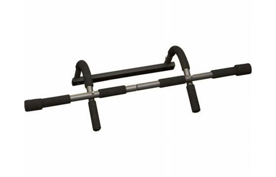 Black pull-up bar