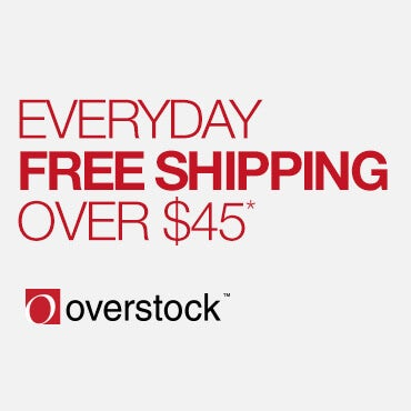Free shipping advertisement from Overstock