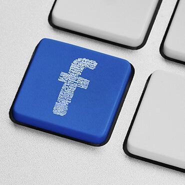 Social Media Icon list of Facebook, Pinterest, Twitter, and Google Plus