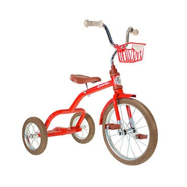Italtrike 16 inch spoke champion red tricycle