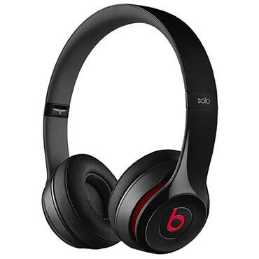 Beats by Dre solo 2 on-ear headphones in black