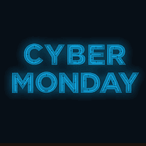 Cyber Monday sign