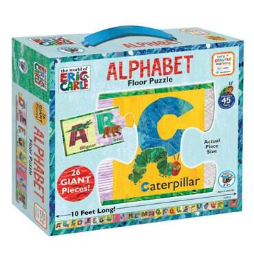 26 piece alphabet floor puzzle