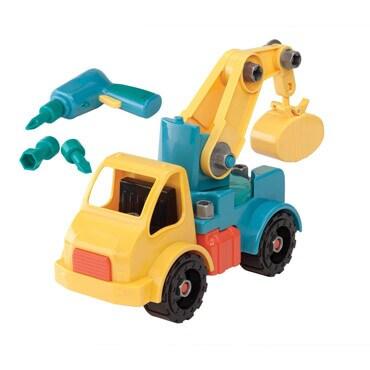 Toysmit take apart crane truck
