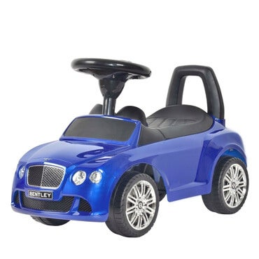 Best ride on cars push car in moroccan blue