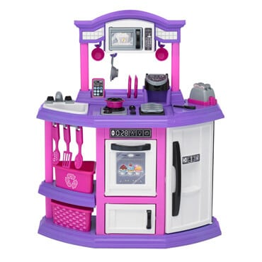 American plastic toy kitchen