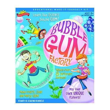 Blubbe gum factory educational kit