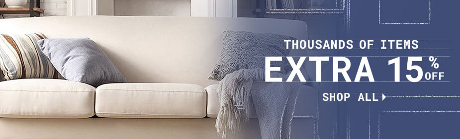 Extra 15% off Home Goods*