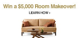 Win a $5000 Room Makeover - Learn How