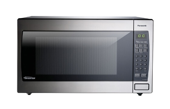 Panasonic 1250 watt microwave in stainless steel