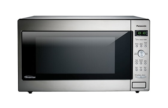 Panasonic built-in microwave in stainless steel