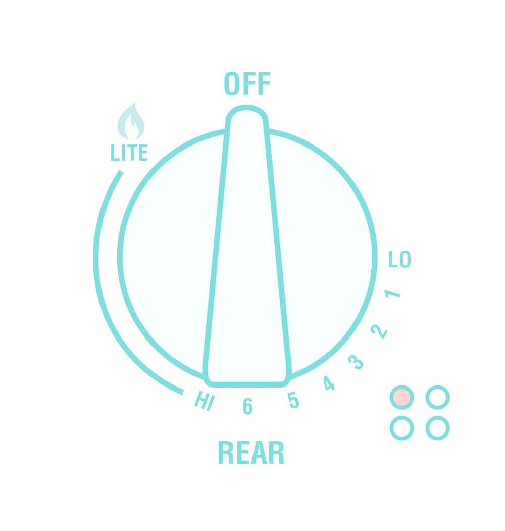 Illustration of range controls