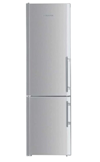 Liebherr semi built-in refrigerator and freezer