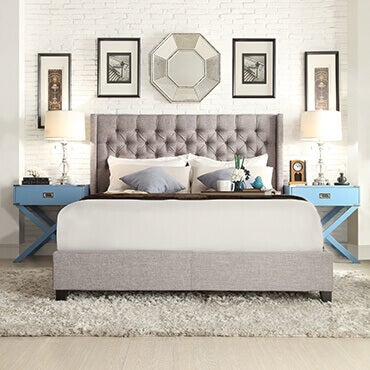 In the Bedroom. 4 Ways to Stylishly Decorate with a Shag Rug   Overstock com